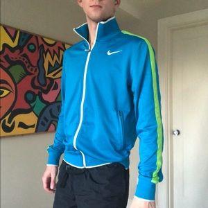 Nike warm up tennis track jacket